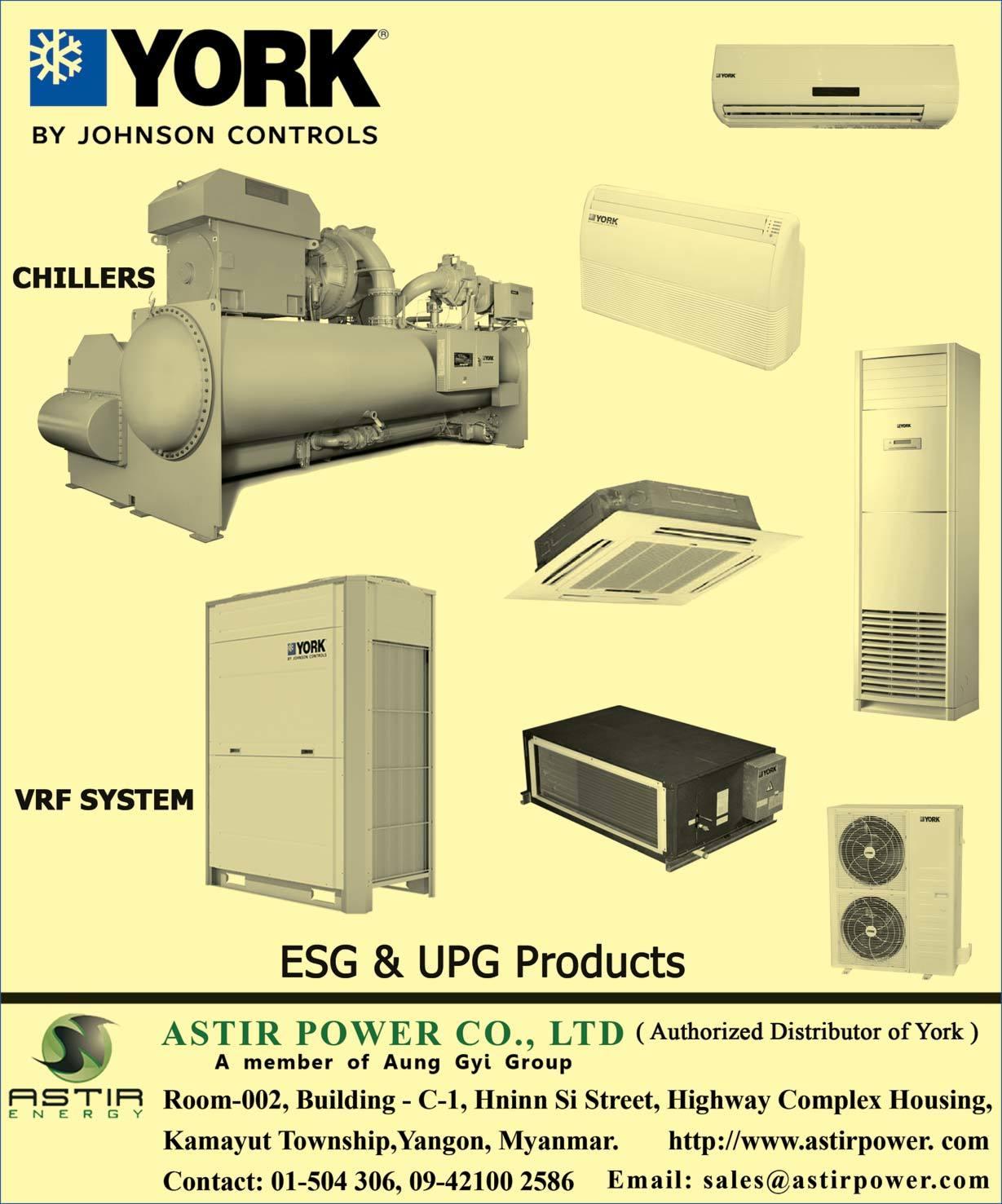 astir power co., ltd. - air conditioning equipment sales & repair