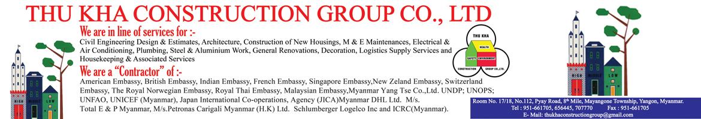 Thu Kha Construction Group Co., Ltd.