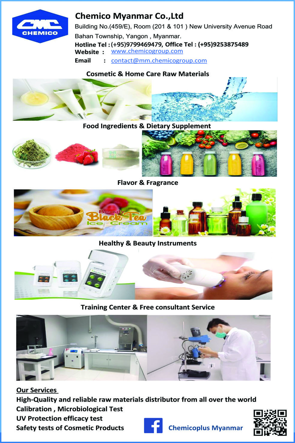Chemico Myanmar Co , Ltd  - Chemicals
