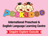 Peekaboo International Preschool & English Language Learning CentreSchools [Special Needs Children]