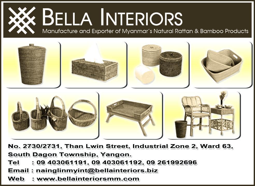 Bella Interiors - Rattan Goods