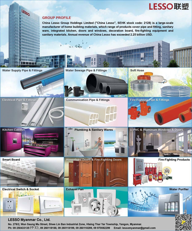 Lesso Myanmar Co Ltd Building Materials