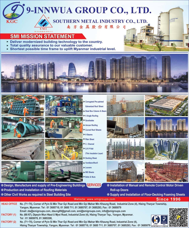 Metallic Punch Industry Myanmar: Southern Metal Industry Co., Ltd.