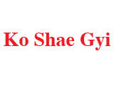 Ko Shae Gyi(Car Workshops)